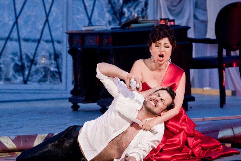 Opera with a Hot Toddy Tosca Jared Ice
